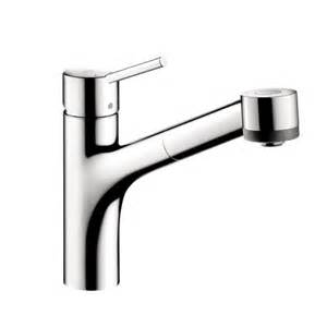 Hansgrohe Talis Kitchen Faucet Hansgrohe 06462000 Talis Single Pull Out Kitchen