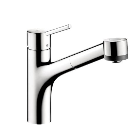 hansgrohe talis kitchen faucet hansgrohe 06462000 talis single hole pull out kitchen