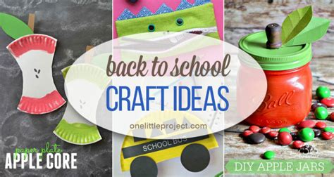 school craft ideas 25 totally awesome back to school craft ideas