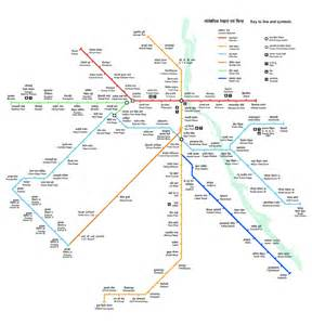 Map Metro by An Unofficial Delhi Metro Route Map Chasing The Metro