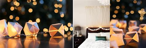 Paper Cube String Lights Don - from origami lights to fairies diy lanterns to light up