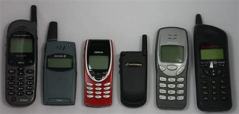mobile phones by year