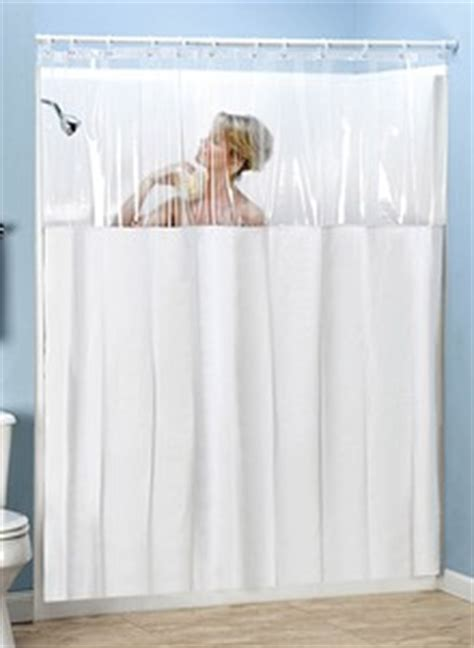 Shower Curtain With Clear Panel by Clear View Shower Curtain Carolwrightgifts