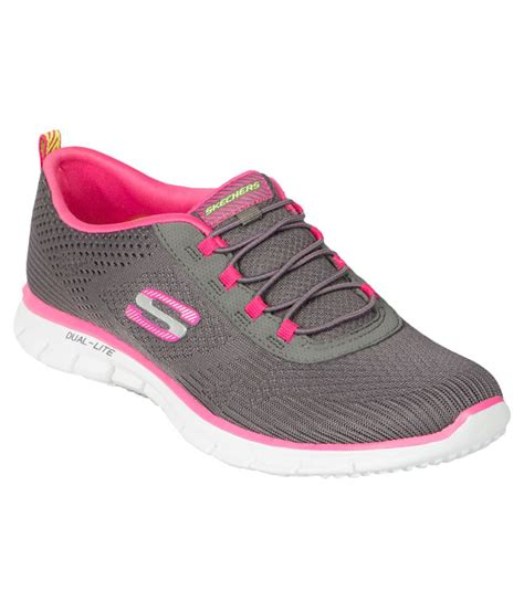 skechers glider gray sports shoes price in india buy