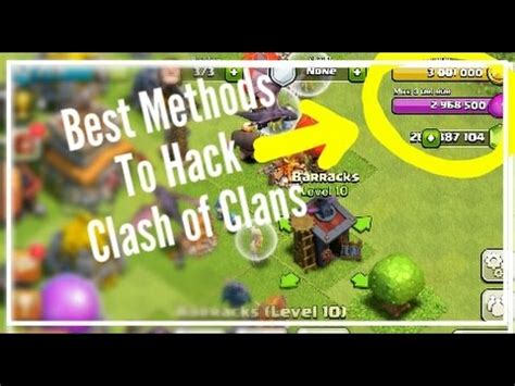 download game coc mod new version coc hack best methods to hack clash of clans latest