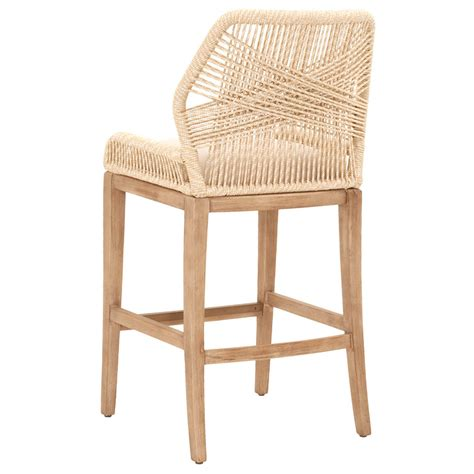 Woven Seat Bar Stools by Luca Sand Woven Bar Stool Shop Bar And Counter Stools