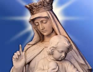Virgin mary with baby jesus jpg