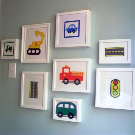 Picture Frames For Children S Bedroom Best 25 Boys Car Bedroom Ideas On