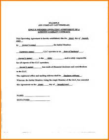 operating agreement template free 13 operating agreement sles mileage tracker form