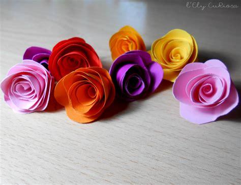 fiori di carta come fare dei semplicissimi fiori di carta l ely curiosa