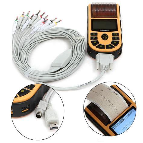 aliexpress warranty best sale handheld electrocardiograph ecg ekg machine 2