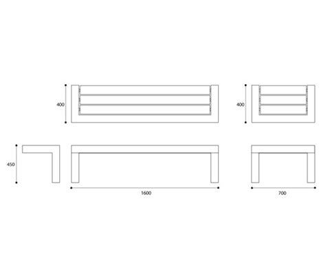 standard bench dimensions please use the following diagram to determine needed