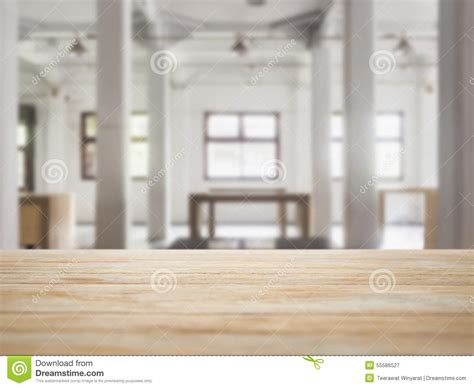 table top counter  interior loft space background