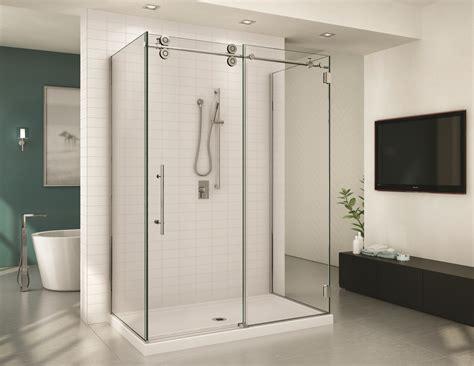 Three Door Shower Doors The Fixture Gallery Fleurco Three Sided Shower Door