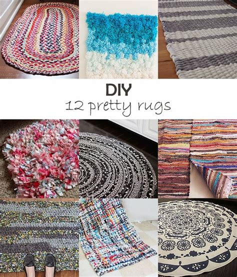 Diy Area Rug From Fabric 989 Best Home Decorating Images On