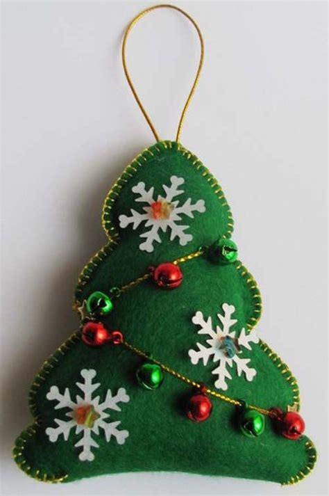moldes para hacer arbolitos de navidad en fieltro nadal