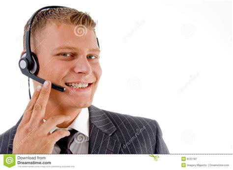 consumer services phone calls customer service busy on phone call royalty free stock