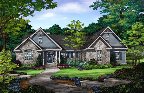 donald gardner ranch house plans plan of the week ranch and hillside walkout