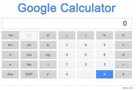 Calculator Google | google calculator the tool really easy to use app online