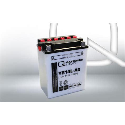 Motorrad Batterie Cb14l A2 by Q Batteries Motorrad Batterie Yb14l A2 51411 12v 14ah 190a