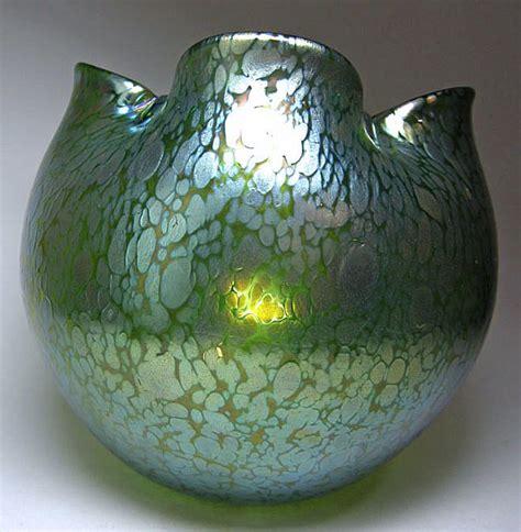 Loetz Papillon Vase loetz papillon glass vase from marshacraftsantiques on