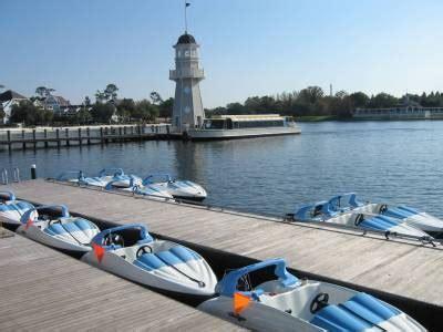 mini boats at disney boats at walt disney world part 2 passporter