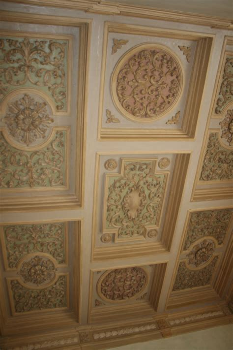 soffitti in legno decorati martini alessandro tinteggiatura verniciatura