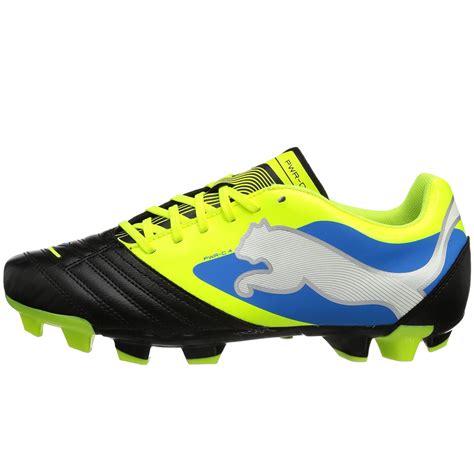mens soccer boots mens powercat 4 fg firm ground black football boots