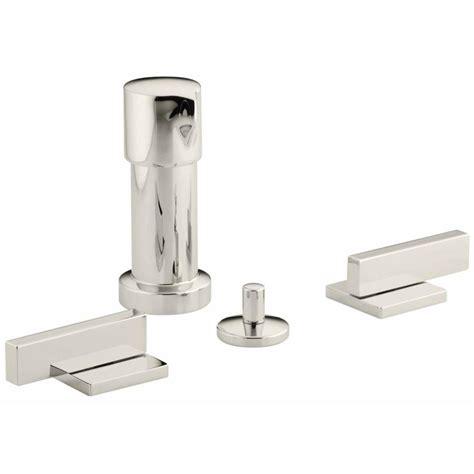 Bidet Parts by Shop Kohler Loure Vibrant Polished Nickel Vertical Spray