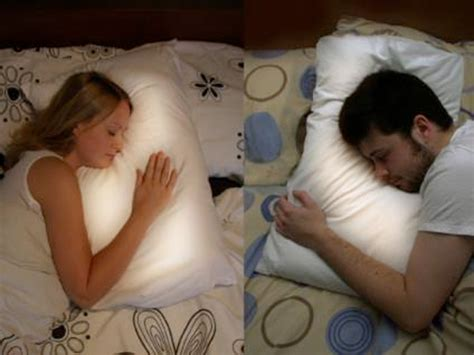 Pillow Talk For Couples by This Pillow Glows When Your Distance Partner Goes To Bed Business Insider