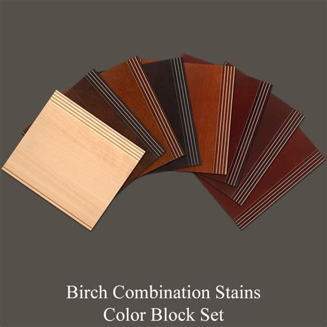Birch Cabinet Stain Colors by Birch Combination Stains Color Block Set Walzcraftwalzcraft