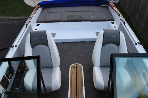 building back to back boat seats 1987 cheetah 196 fish and ski rebuild project and pictures