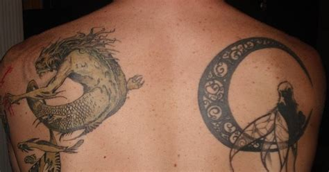dragon moon tattoo moon cerewet is