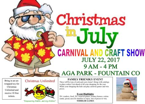 best 28 christmas in july craft show christmas in july