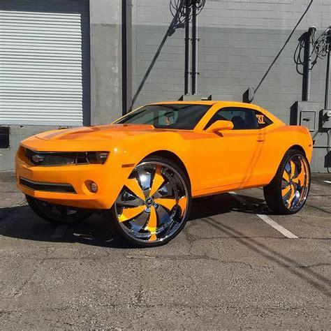 wheels custom camaro custom camaro on 32 s big rims custom wheels