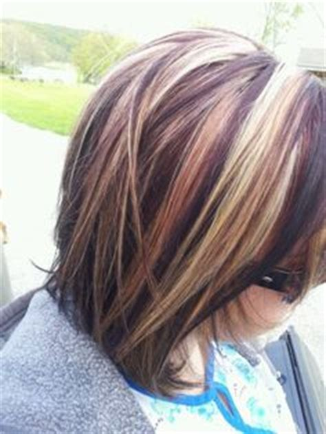 dark lowlight bob brunette hair with highlights and lowlights google