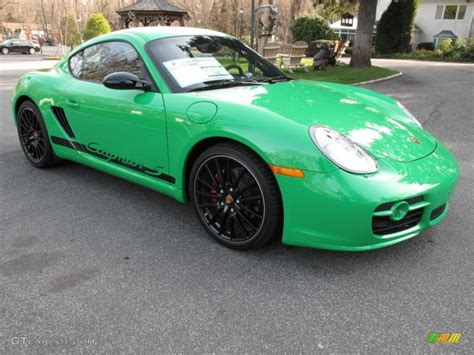 porsche cayman green 2008 porsche cayman s sport related infomation