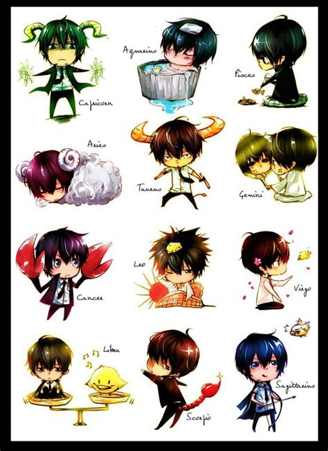 12 cung hoang dao 73 best 12 zodiac chibi and anime images on pinterest 12