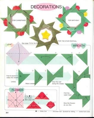 paper crafts for christmas origami ideas