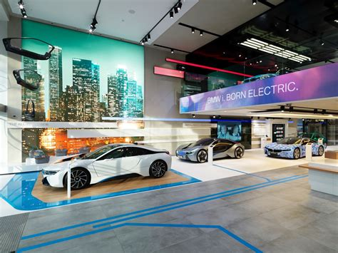 bmw showroom design brussels bmw brand store earns 2014 iconic award for