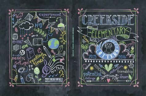 chalkboard school yearbook covers elementary school entourage s annual school yearbook contest entourage