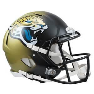 Jacksonville Jaguars Helmets Jacksonville Jaguars Speed Authentic Helmet