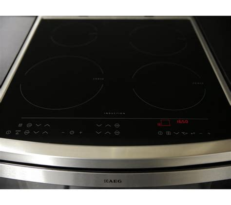 aeg electric induction oven buy aeg 49106iu mn electric induction cooker stainless steel free delivery currys