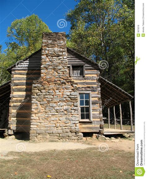 Colonial Cabins by Colonial Log Cabin Royalty Free Stock Photos Image 3879318