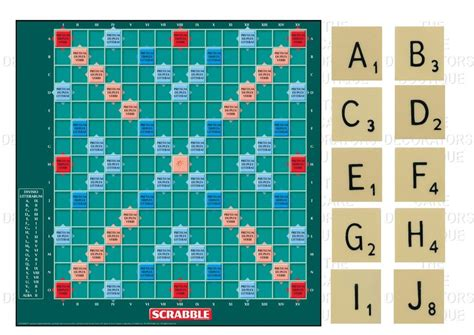 picture of a scrabble board scrabble board edible iced icing cake topper 7 5 quot 10