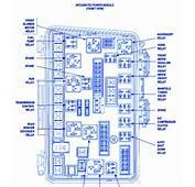 Chrysler Pacifica Wagon 2004 Fuse Box/Block Circuit