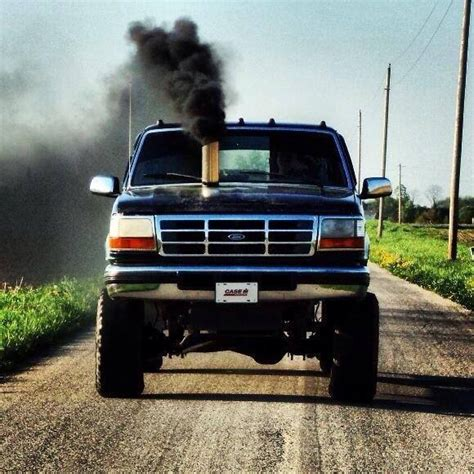 diesel jeep rollin coal ford rollin coal lifted trucks and ford