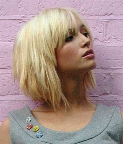 choppy bob haircut with fringe top 10 hottest trending short choppy hairstyles with bangs