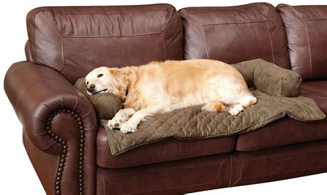 bolstered furniture covers  pets provide protection