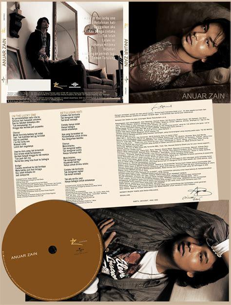 Cd Anuar Zain Selftitled Penyanyi Malaysia anuar zain 2007 on behance